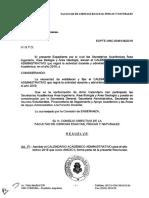 Calendario Academico Administrativo 2019