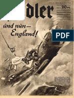 Der Adler 14 July 9 1940