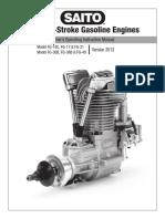 Saito Gas Engines-Manual