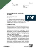 Informe de seguimiento de OCR - Acuerdos de Paz
