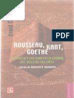 Cassirer, Ernst - Rousseau, Kant, Goethe. Filosofia y cultura en la Europa del Siglo de las Luces (1).pdf