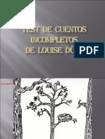 TEST  DE  CUENTOS  INCOMPLETOS.ppt