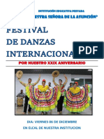 Folleto Danza