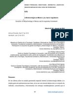 Biotecnologia en México