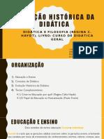 Apresentação de História da Didatica