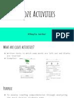 cloze activities  1