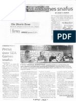 Manila Times, Nov. 25, 2019, PH hit over SEA Games snafus.pdf