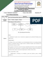 Iau-sample Paper Solution( 4 Marks)