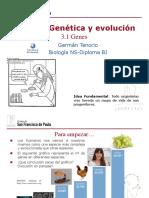 Gtp t3.Genética y Evolución 1ª Parte Genes 2016-18
