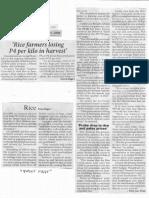 Philippine Star, Nov. 25, 2019, Rice farmers losing P4 per kilo in harvest.pdf
