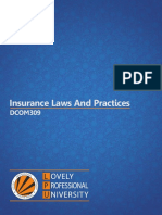 Dcom309 Insurance Laws and Practices
