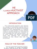 The Constructivist Approach