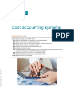 ---- (16 Cost Accounting Systems)