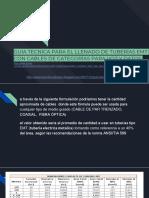 Guia Tecnica Para El Llenado de Tuberías Emt Con Cables de Categorías Para Voz y Datos