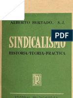 Sindicalismo (a. Hurtado)