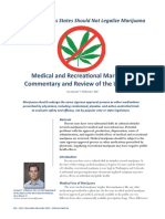 More Reasons States Should Not Legalize Marijuana (Dec 2013)