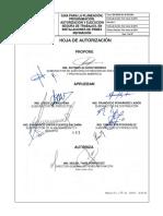 Guia Para La Planeación, Programación y Ejecución Segura de Trabajo, En Instalaciones de Pemex Refinación