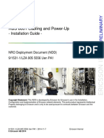 RBS 6601 Cabling Power Up