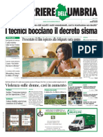 Rassegna stampa dei giornali nazionali e locali del 25 novembre 2019