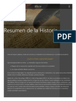 Resumen de La Historia