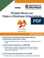 Projeto Urbanistico 20101117 NovaLuz PMSP SMDU