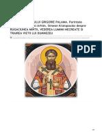 Cuvantul-Ortodox.ro-dUMINICA SFANTULUI GRIGORIE PALAMA Parintele Petroniu Tanase Si Arhim Simeon Kraiopoulos Despre RUGAC