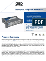 Dry Type Transformer Temperature Monitor - T301 - Rugged Monitoring - PDF