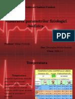 Masurarea parametrilor fiziologici ppt
