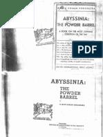 Abyssinia the Powder Barrel