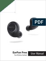 EarFun Free Manual