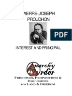 Proudhon Pierre- Joseph - Interest and Principal