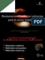 Restauraciones Esteticas Indirect As Para El Sector Posterior