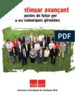 Propostes Socialistes per les Comarques Gironines - Eleccions Parlament Catalunya2010