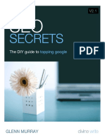 SEO Secrets - The DIY guide to topping google - GLENN MURRAY (Divine Write).pdf