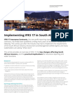 IFRS 17 in South Africa