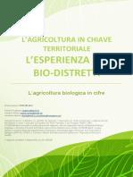 Bio in Cifre 2015 Biodistretti