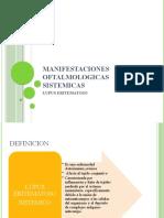 Alteraciones Oftalmicas en Enfermedades Sistemicas