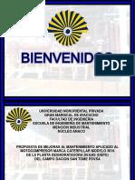 ACCIONES DE MANTENIMIENTO PARA COMPRESOR CARTERPILLAR