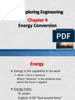 Chapter 4 Energy Conversion