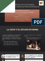Las gens y el estado de Roma