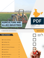 Agriculture and Allied Industries September 2019