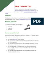 Astrand Treadmill Test dan Bruce Treadmill Test.docx