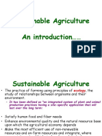 Chapter 13 Sustainable Agriculture