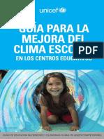 Unicef Educa Educacion Derechos Guia Clima Escolar