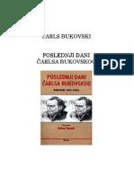 Carls Bukovski Poslednji Dan