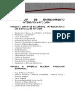 Programa Intensivo DRC 06-2018