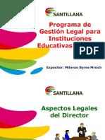 Capacitación en Gestión Legal Colegios Perú
