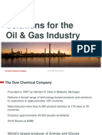 01 - Dow Solutions for Oil & Gas Industry