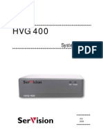HVG 400 System Guide v2-3 July 2008