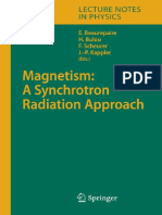 Epdf.pub Magnetism a Synchrotron Radiation Approach Lecture